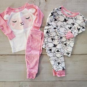 2 Piece Pajama Set Bundle